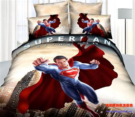 shop popular superman bedding from china aliexpress
