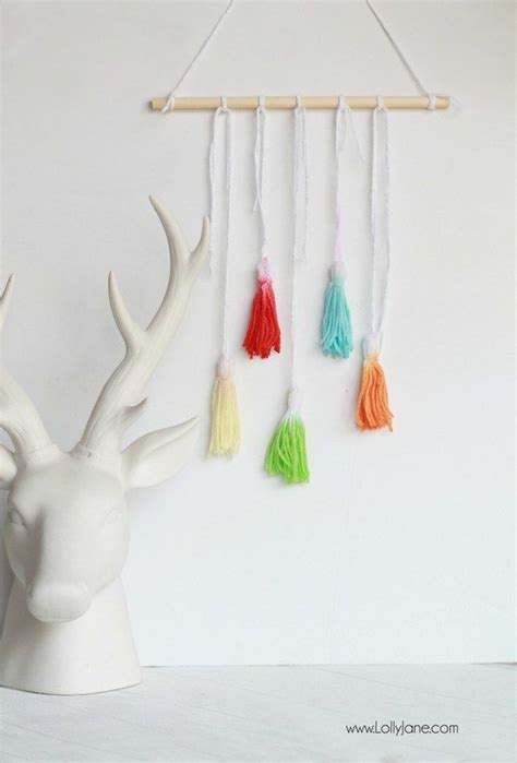 give  gift  decor   trendy dip dyed tassels