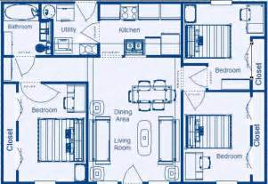 simple 4 bedroom house plans simple house plans 4 bedrooms speedchicblog