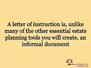 letters of instruction in florida essential issues With essential estate planning documents