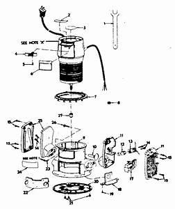 Router Diagram  U0026 Parts List For Model 31517492 Craftsman