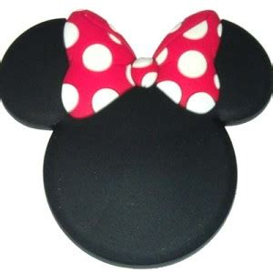 disney magnet mickey mouse icon minnie mouse bow