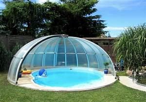 Pool Dach Rund : pool berdachung moderne und aktuelle vorschl ge ~ Watch28wear.com Haus und Dekorationen