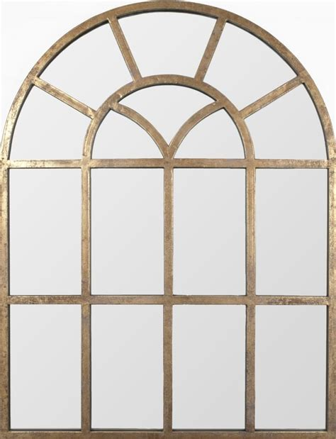 arch mirror distressed gold leaf metal arch mirror mirror pinterest