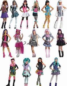 Monster High Kostüme Für Kinder : monster high kinder karneval fasching kost m 116 152 ebay ~ Frokenaadalensverden.com Haus und Dekorationen