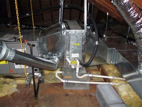 air handler attic ac installation clauss mechanical