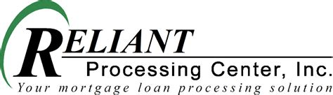 Loan Modification Processing Center by Reliant Processing Contract Loan Processing Outsource Loan