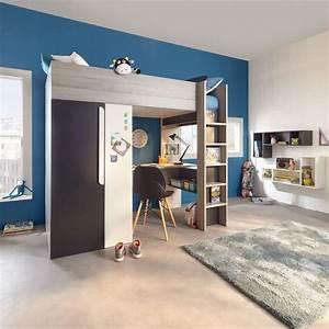 Lit Pour Ado : lit mezzanine pour ado beautiful lit mezzanine pour ado ~ Melissatoandfro.com Idées de Décoration