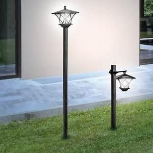 Lampadaire Exterieur Terrasse : lampadaire exterieur solaire ~ Teatrodelosmanantiales.com Idées de Décoration