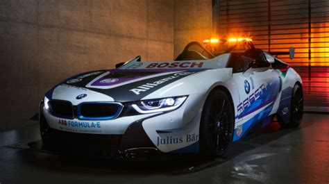 Bmw I8 Roadster Modification by Bmw I Presents The New Formula E Safety Car Green Car