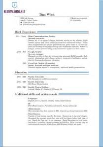 best format for a resume 2016 updated resume format 2016