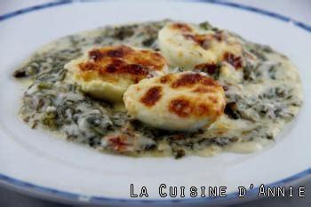 cuisine florentine recette oeufs à la florentine la cuisine familiale un