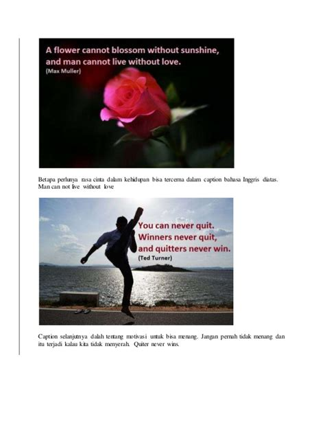 pengertian dan contoh caption bahasa inggris