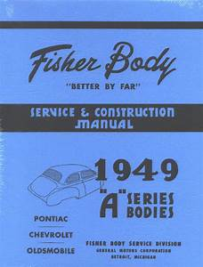 Chevy Parts  U00bb Printed Material  U00bb Fishers Body Manuals