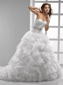 the irresistible attraction of ball gown wedding dresses With organza ball gown wedding dress
