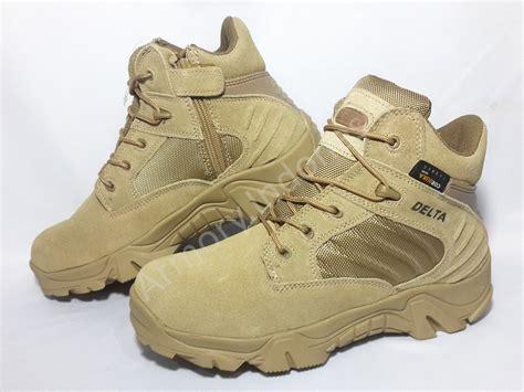 jual sepatu boot delta 6 quot warna gurun di lapak armory