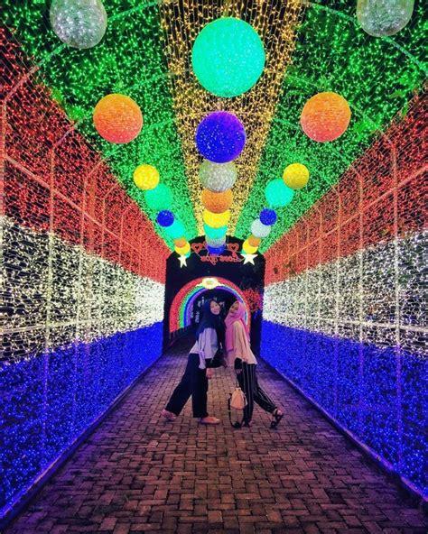 light festival sindu kusuma edupark wisata hits  jogja