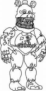 Fnaf Free Coloring Pages Free Coloring Pages