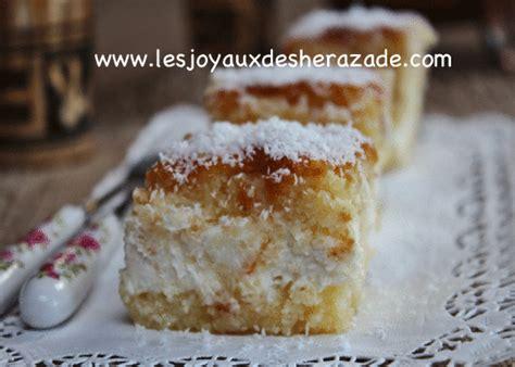 cuisine orientale pour ramadan basboussa à la crème chhiwat ramadan les joyaux de