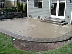 Adding Pavers To Concrete Patio Decorate Patio Designs On Pinterest Patio Design Outdoor Patio Designs And