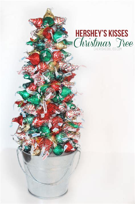 Hershey's Kisses Christmas Tree Tutorial  Cherished Bliss