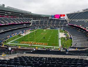 Soldier Field Section 350 Seat Views Seatgeek