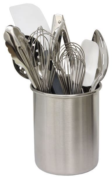 Product Of The Week A Kitchen Utensil Holder by Cooking Utensil Holder Stainless Steel Contemporary
