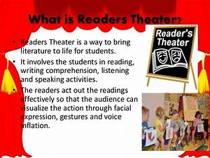 Instructional strategies for readers using readers theater