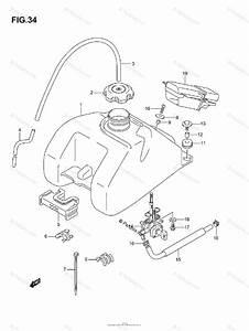Suzuki Atv 2004 Oem Parts Diagram For Fuel Tank