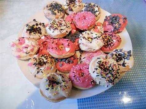 recette de mini donuts pour machine a donuts