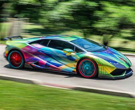 rainbow lamborghini rainbow lamborghini awesome cars pinterest