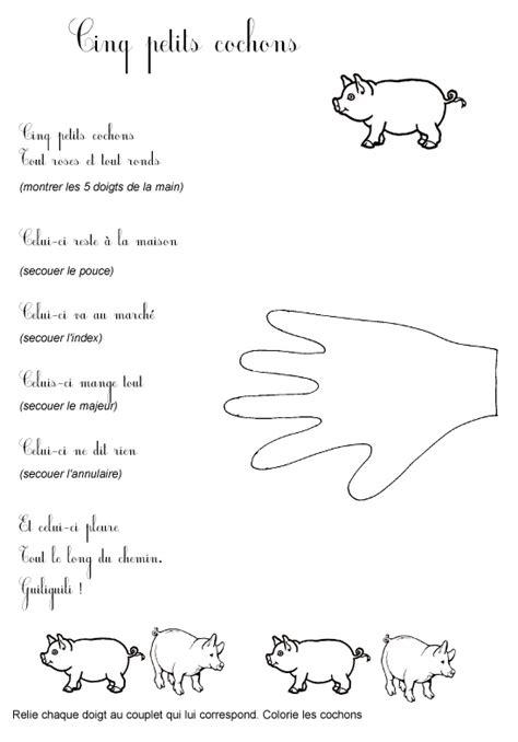 comptines  poesies