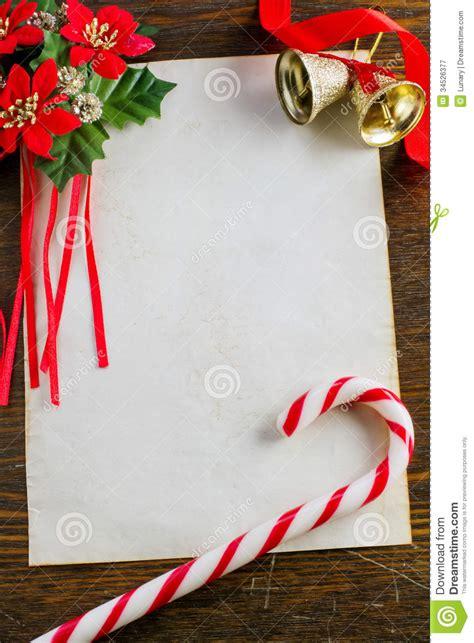 letter  santa claus stock image image  christmas