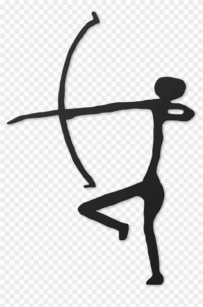 Cave Clipart Stick Lascaux Painting Simple Person