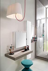 Coiffeuse Salle De Bain : cr er une salle de bain tendance zoom sur les meubles et ~ Teatrodelosmanantiales.com Idées de Décoration