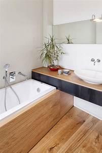 Salle De Bain Baignoire : la salle de bain scandinave en 40 photos inspirantes ~ Dailycaller-alerts.com Idées de Décoration