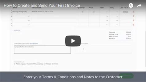 Video Tutorials  Online Invoicing Software Invoiceberry
