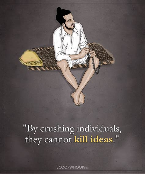 powerful quotes  bhagat singh  explain  hes