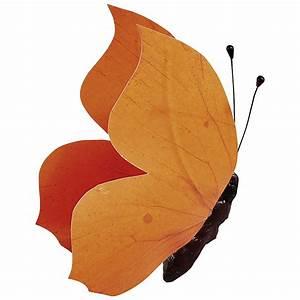 Schmetterlinge Als Deko : deko deko schmetterling orange 30 cm dekoration bei ~ Lizthompson.info Haus und Dekorationen
