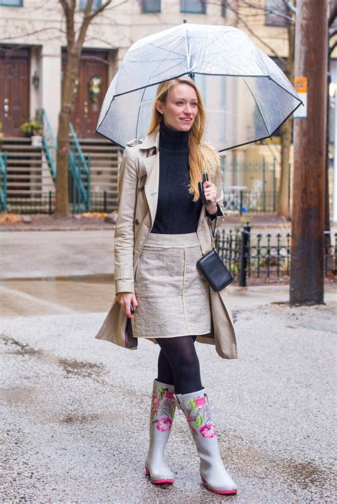Rainy Day Outfit How to Stay Warm on the Coldest of Rainy Days - Style by Joules