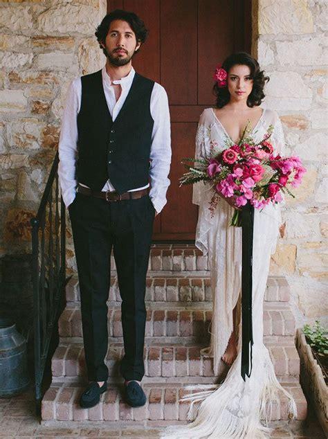 Fuchsia Cognac Wedding Inspiration Wedding Details