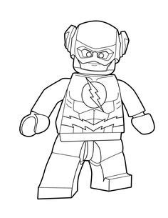 coloring page  kids   draw lego spiderman lego