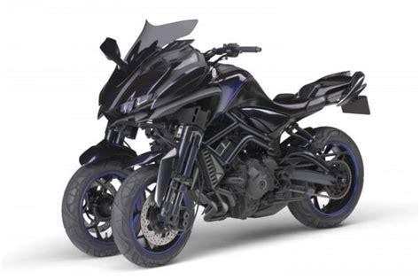 Yamaha's Three-wheeler Motorcycle Concept Is Headed To