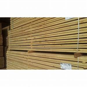 Poteau Bois Rond 3m : planche 27x150 sapin pic a 3m sud bois terrasse bois ~ Voncanada.com Idées de Décoration