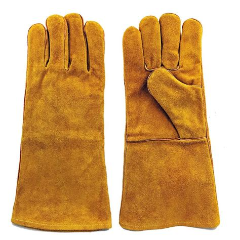 brown area rugs large brown split leather welding gloves gwg 2102 the