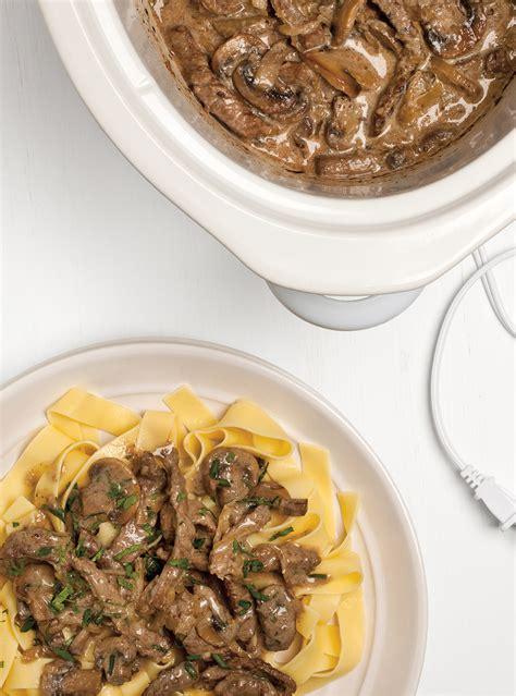 ricardo cuisine mijoteuse cooker beef stroganoff ricardo
