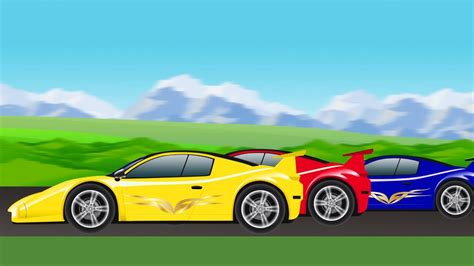 Kinds Of Race Cars by Sports Car Race Car Racing For Children