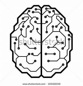 electronic brain stock images royalty free images With or photo of computer electronic circuit cpu board breaking binary code