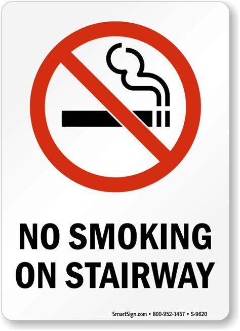 smoking labels  smoking  stairway sku