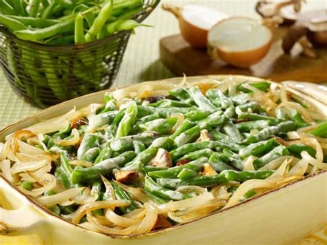 silk recipes green bean  mushroom casserole silk